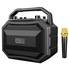 bluetooth party speakers with lights mifa m520 bluetooth speaker with wireless microphone mobile wireless