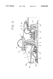 patent us5403165 compact high power turbopump for a rocket