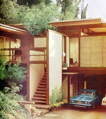 Mid Century Modern Homes Furniture The Architecture Of Midcentury Modern With Front Steps