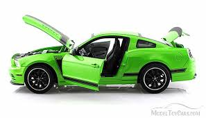 Black 2013 Mustang 2013 Ford Mustang Boss 302 Green W Black Stripes Shelby Sc453