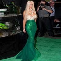 cheap kim kardashian sweetheart mermaid dress free shipping kim