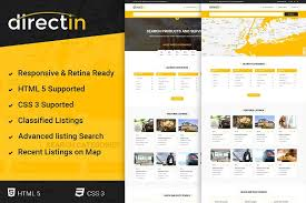 template for listing directory job website templates