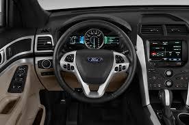 Ford Explorer Interior - 2015 ford explorer steering wheel interior photo automotive com