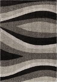 Modern Black Rug Black And Grey Area Rug Roselawnlutheran Black Area Rugs