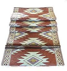 Indoor Outdoor Patio Rugs by Amazon Com 6 U0027x9 U0027 Indoor Outdoor Patio Rug Rv Mat Camping