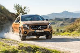 mercedes suv range 2018 mercedes gla look review motor trend
