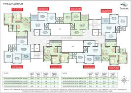 typical floor plan buy 2 bhk affordable flats in wakad pune floor plans mont vert