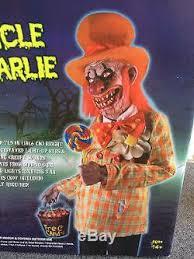 spirit halloween life size animated animatronic figure prop uncle