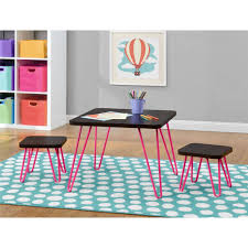 home design kids retro table and chairs kids retro furniture