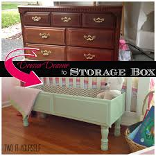 two it yourself dresser drawer to storage box easy diy project