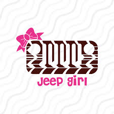 jeep silhouette jeep svg jeep svg jeep with bow svg cut table