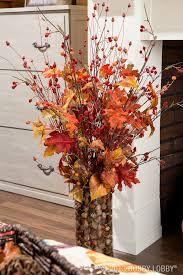 fall flower arrangements use faux floral stems for a flower arrangement that will last all