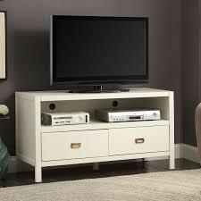 Media Center Furniture by Linon 862262wht01u Peggy 44