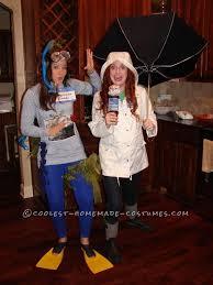 Sandy Halloween Costume Hurricane Sandy Weather Channel Reporter Couple Halloween