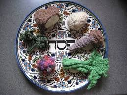 passover plates seder plate knits knitterly passover seder