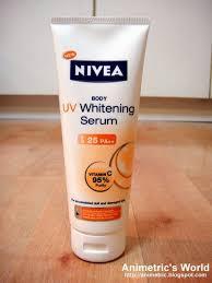 Nivea Serum Vitamin C nivea uv whitening serum review animetric s world