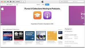 in the next itunes update itunes u collections will move to