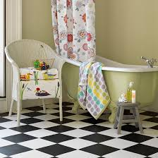Black And Yellow Bathroom Ideas Black And White Flooring Ideas Decorating Ideal Home