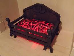 fake coal fire with expanding foam u0026 leds a penny drops