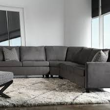 Gray Sectional Sofa For Sale by Living Room Natural Dark Grey Microfiber Sectional Couch For