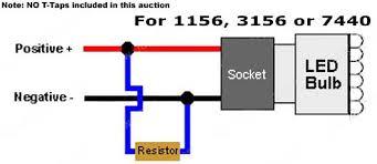 50w 6ohm led load resistors led turn signal lights hyper flash fix