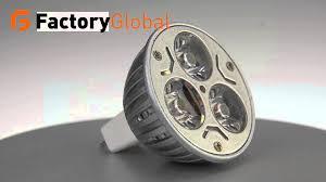 12v 3w mr16 gu5 3 white or warm white led light led lamp bulb