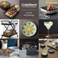 wedding registry idea crate and barrel beyond the basics wedding registry ideas