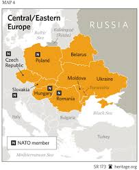 map of europe russia and the independent republics u s comprehensive strategy toward russia the heritage foundation