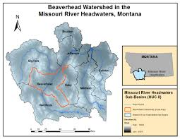 Montana River Map by Missouri River Headwaters U S Climate Resilience Toolkit
