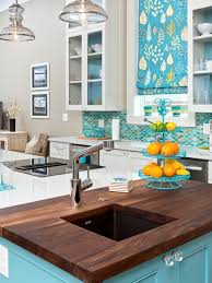 Turquoise And Orange Kitchen by Nkba 2013 Kitchen Island In The Sun Hgtv
