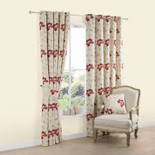 Floral Jacquard Curtains Candra Green Herringbone Jacquard Eyelet Lined Curtains W 228 Cm