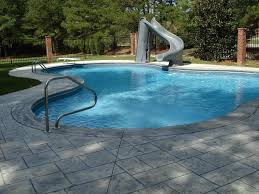 Lounge Chairs In Pool Design Ideas Swimming Pool Excellent Large Backyard Swimming Pool Design