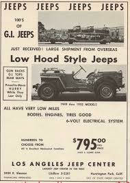 vintage jeep ad see the jeep as a lady history center blog