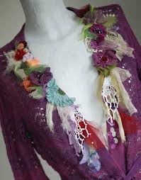 vintage silk l shades romantic bohemian jacket or cardigan blend of cotton and linen