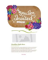 invitation email marketing templates invitation email templates
