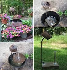 Backyard Features Ideas 26 Wonderful Outdoor Diy Water Features Tutorials And Ideas That