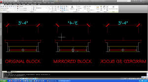 Seek Autocad Solved Mirror Dimension In Block Autodesk Community