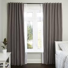 Curtain And Rod Modern Rod Curtain Rods Hardware Allmodern
