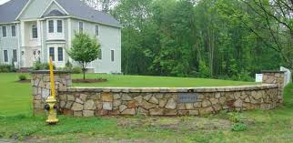 Steep Hill Backyard Ideas Stone Wall Designs Retaining Wall Builders