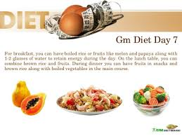 7 day gm diet plan loss weight in 7 days