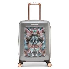 suitcases ted baker small four wheel suitcase suitcases u0026 cabin bags