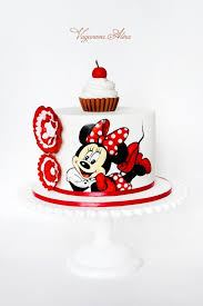 Red Minnie Mouse Cake Decorations 121 Best Mickey Minnie Party Images On Pinterest Baby Mickey