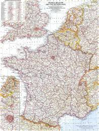 The Netherlands Map France Belgium And The Netherlands Map 1960 Maps Com