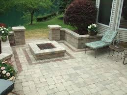 Brick Firepits B T Klein S Landscaping Hardscapes Firepits