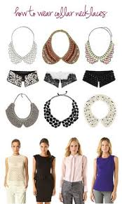 wear collar necklace images Ask kate how to wear collar necklaces jpg