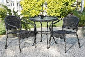 Wicker Bistro Table And Chairs Bistro Patio Table And Chairs Lovable Bistro Patio Table Harbor