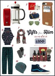 Gifts For Him by Holiday Gifts For Him Under 100