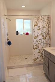 small walk in shower with curtain google search bathroom