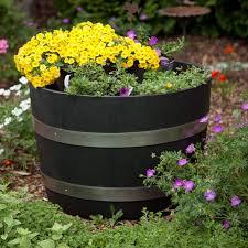 25 best whiskey barrel planter images on pinterest whiskey