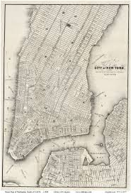 Street Map Of New York City by Old Maps Of Manhattan New York City Page 4